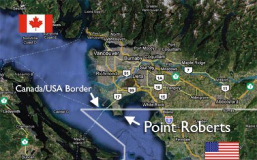 How Do You Ship Guns To And From Point Roberts, Washington?